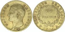 France 20 Francs Napoléon I Empereur - 1806 A Paris Or