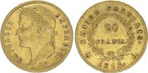 France 20 Francs Napoleon I Empereur - 1813 A - Gold
