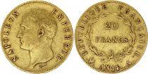 France 20 Francs Napoléon I Empereur - An 14 A Or