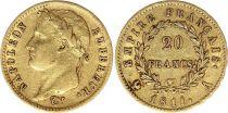 France 20 Francs Napoleon I Empereur TL 1811 A Paris