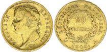 France 20 Francs Napoleon I Empereur1808 A Paris - OR