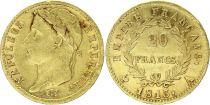 France 20 Francs Napoléon I Tête laurée - 1813 A Paris Or