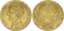 France 20 Francs Napoleon Ier Consul - An 12 A Paris - Or - 2nd ex