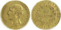 France 20 Francs Napoleon Ier Consul - An 12 A Paris - PCGS XF 45