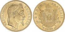 France 20 Francs Napoleon III 1868 BB Strasbourg - Gold