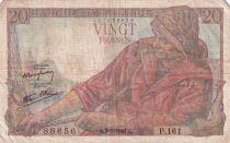 France 20 Francs Pêcheur -  09-01-1947 - Série P.161 - TTB