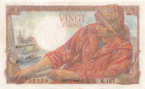 France 20 Francs Pêcheur - 09-01-1947 Série K.157 - TTB