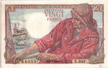 France 20 Francs Pêcheur - 09-02-1950 Série E.242
