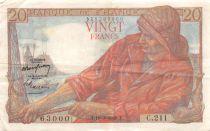 France 20 Francs Pêcheur - 10-03-1949 Série C.211 - TTB