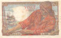 France 20 Francs Pêcheur - 10-03-1949 Série L.206 - TTB