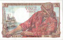 France 20 Francs Pêcheur - 15-04-1943 Série T.88