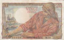 France 20 Francs Pêcheur - 15-04-1943 Série W.79