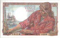 France 20 Francs Pêcheur - 19-05-1949 Série J.219