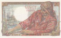 France 20 Francs Pêcheur - 19-05-1949 Série Q.220