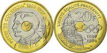 France 20 Francs Pierre de Coubertin - 1994 - Essai - SUP¨+
