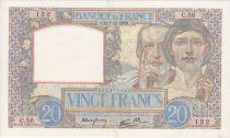 France 20 Francs Science et Travail - 07-12-1939 Série C.56