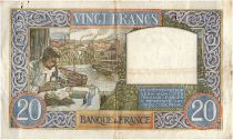 France 20 Francs Science et Travail - 08-05-1941 Série U.4092