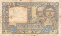 France 20 Francs Science et Travail - 17-10-1940 Série S.1306 - TB+
