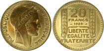 France 20 Francs Turin - 1929 - Essai