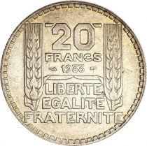 France 20 Francs Turin - 1933