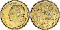 France 20 Francs Woman head - 1951 B Beamont-le-Roger