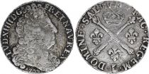 France 20 Sols Louis XIV - 1708 L Bayonne - Silver