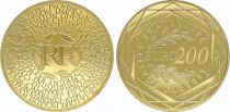 France 200 Euro Or - France 2011 -   UNC - Gold