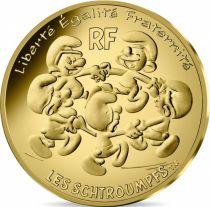 France 200 Euro Or - Schtroumpfs  2020  - UNC