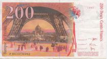 France 200 Francs Eiffel - dates diverses