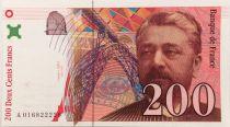France 200 Francs Gustave Eiffel 1996 - Eiffel Tower - Serial A.016 - aUNC
