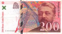 France 200 Francs Gustave Eiffel 1997 - Serial G.044 - VF+