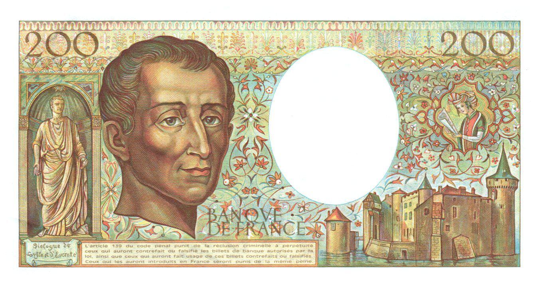 France 200 Francs Montesquieu - 1981 - Série U.008 - P.NEUF
