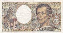 France 200 Francs Montesquieu - 1981 to 1994 - various serials - VF