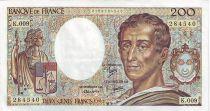 France 200 Francs Montesquieu - 1982