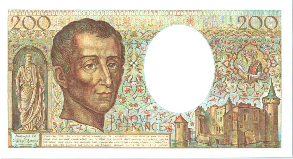 France 200 Francs Montesquieu - 1982 Série K.13