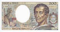 France 200 Francs Montesquieu - 1984 Serial D.026