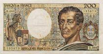 France 200 Francs Montesquieu - 1991 - Série H.088 - TTB