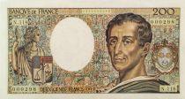 France 200 Francs Montesquieu - 1992 - Série N.118 - PSUP