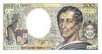 France 200 Francs Montesquieu - 1994 - Serial P.160 - aUNC