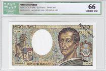France 200 Francs Montesquieu - Specimen - 1981