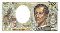 France 200 Francs Montesquieu - Spécimen - 1981