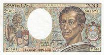 France 200 Francs Montesquieu 1982 - Serial Y.010