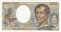 France 200 Francs Montesquieu 1982 - Série G.011