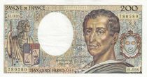France 200 Francs Montesquieu 1984 - Serial H.026