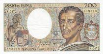 France 200 Francs Montesquieu 1987 - Série K.047