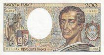 France 200 Francs Montesquieu 1988 - Série E.062