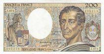 France 200 Francs Montesquieu 1989 - Série J.074
