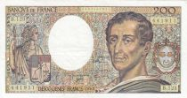 France 200 Francs Montesquieu 1992 - Serial B.123