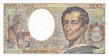 France 200 Francs Montesquieu 1992 - Serial H.140