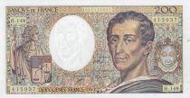 France 200 Francs Montesquieu 1992 - Serial H.148